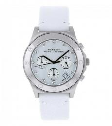 Marc Jacobs White Chronograph Watch