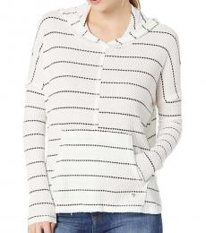 Billabong White Relaxed Fit Hoodie Top