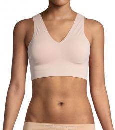 Calvin Klein Sirene V-Neck Logo Bralette