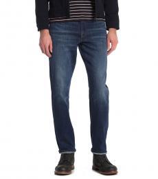 Lucky Brand Dark Blue Athletic Jeans