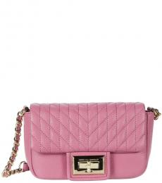 Karl Lagerfeld Orchid Agyness Small Crossbody
