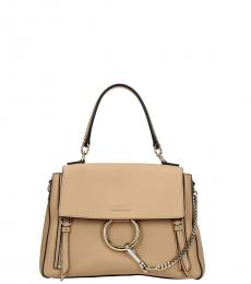 Chloe Natural Pink Faye Small Satchel