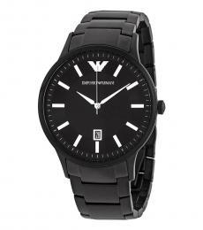 Emporio Armani Black Renato Watch