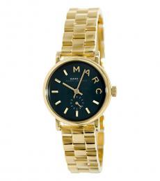 Marc Jacobs Gold Baker Mini Watch