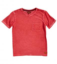 7 For All Mankind Boys Flame V-Neck T-Shirt