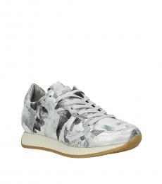 Philippe Model Silver Monaco Sneakers