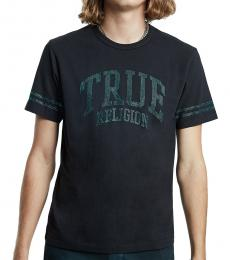 True Religion Black Logo T-Shirt