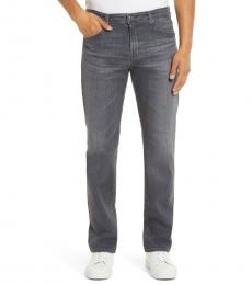 AG Adriano Goldschmied Grey Graduate Slim Straight Leg Jeans