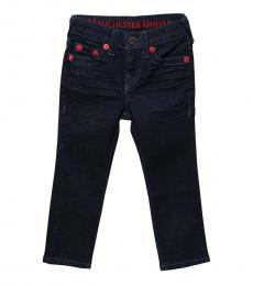True Religion Little Boys Rinse Rocco Single End Jeans
