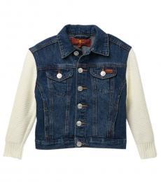 Little Girls Perennial Puff Sleeve Jacket