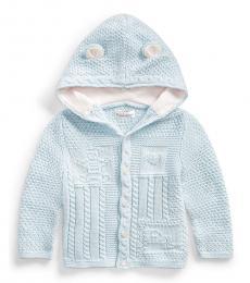 Ralph Lauren Baby Boys Beryl Neutral Hooded Cardigan