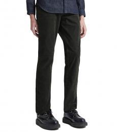 AG Adriano Goldschmied Black Everett Slim Straight Jeans