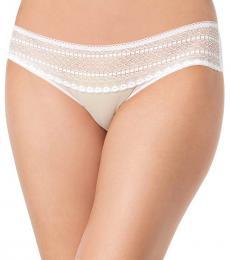DKNY White Lace Bikini Underwear