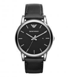 Emporio Armani Black Classic Logo Watch