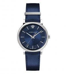 Versace Blue Logo Dial Watch