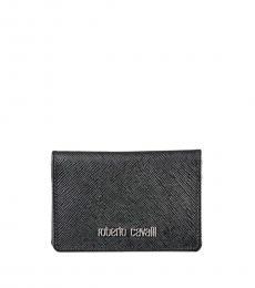 Roberto Cavalli Black Bifold Wallet