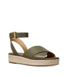 Michael Kors Olive Abbott Sandals