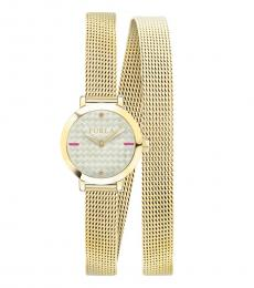 Furla Gold Vittoria Radiant Watch