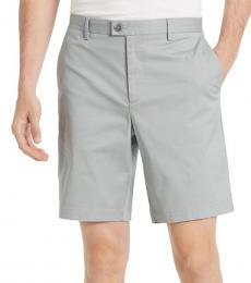 Pure Grey Classic-Fit Chino Shorts