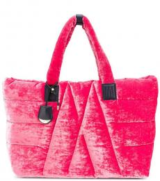 Fuchsia Powder Large Tote