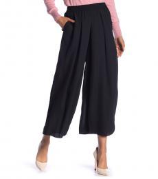Black Krista Wide Leg Pants