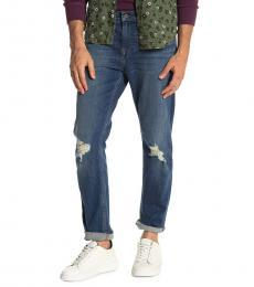 Griffin Blue Straight Leg Jeans