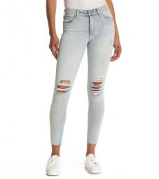 AG Adriano Goldschmied 24 Years Farrah High Waist Skinny Jeans