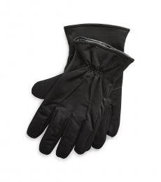 Ralph Lauren Black Soft Touch Gloves