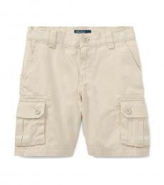 Ralph Lauren Little Boys Tan Chino Cargo Shorts