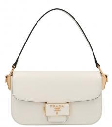 White Ensemble Small Shoulder Bag