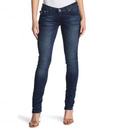 Denim Stella Flap Pocket Skinny Jeans