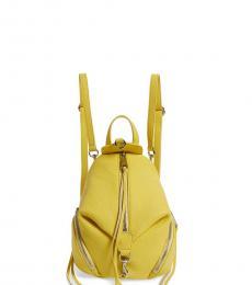 Rebecca Minkoff Capri Yellow Julian Mini Backpack