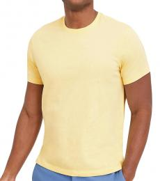 J.Crew Light Yellow Washed Jersey T-Shirt