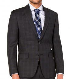 Dark Grey Modern-Fit Suit Jacket
