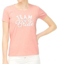 J.Crew Peach Team Bride Graphic Tee