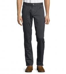 Michael Kors Smoke Parker Slim-Fit-Twill Pants