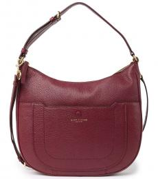 Marc Jacobs Mulled Cherry Empire City Large Hobo