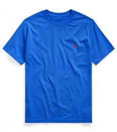 Ralph Lauren Little Boys Sistine Blue Crewneck T-Shirt