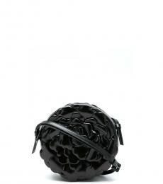 Valentino Garavani Black Rose Atelier Small Crossbody Bag