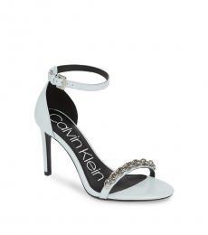 Pale Blue Rajni Chain Heels