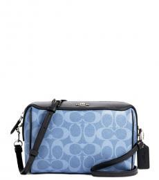 Coach Blue Bennett Small Crossbody Bag