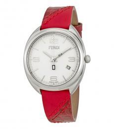Fendi Red Momento Watch