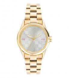 Furla Gold Eva Classic Watch