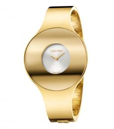 Gold Seamless Time Piece