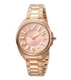 Rose Gold Logo Watch