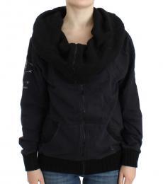 Just Cavalli Black Cotton Jacket