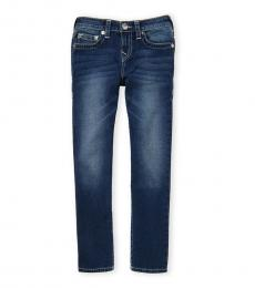 True Religion Boys Blue Laguna Slim Fit Jeans