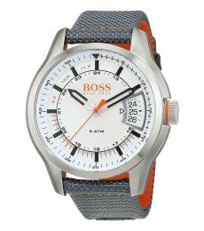 Hugo Boss Silver White Dial Watch