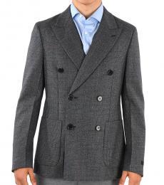 Prada Dark Grey Wool Blazer