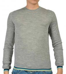 Light Grey Wool Sweater